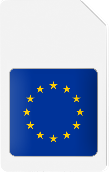 EUROPE-SIM 25GB/1year